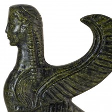 Sphinx of Delphi, a Mythological Female Monster