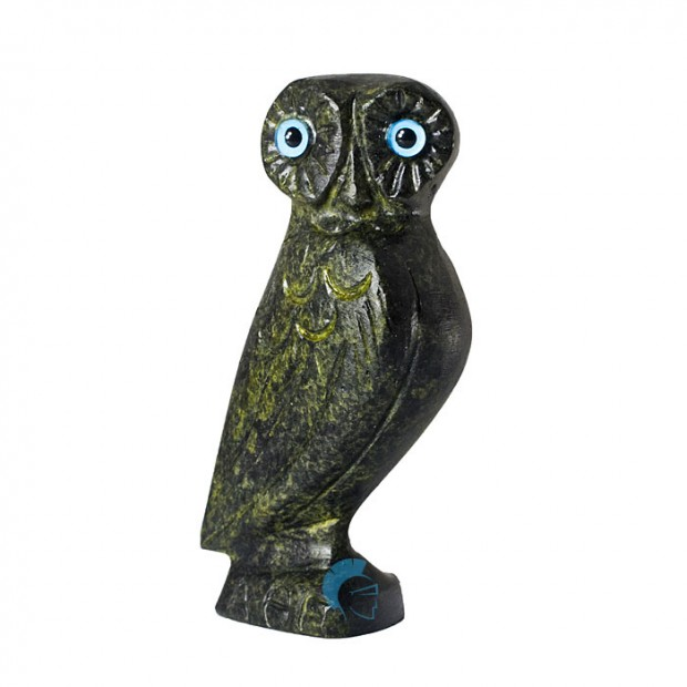 Ancient Greek Owl, the Symbol of Wisdom