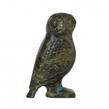 Ancient Greek Solid Owl Standing