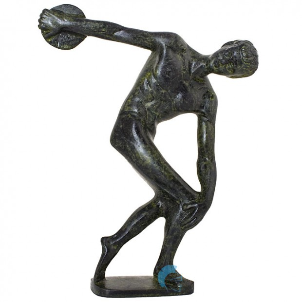 Greek Ancient Olympic Athlete - Discobolus of Myron