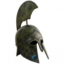Greek Ancient Helmet,  with tall crest  32cm