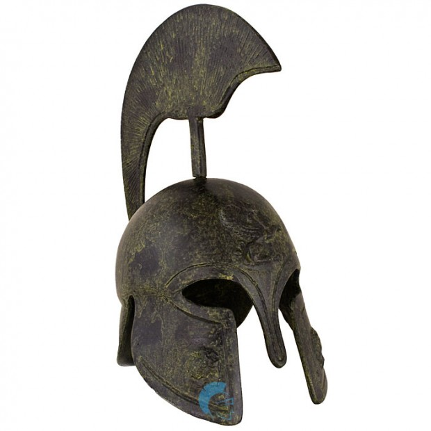 Greek Ancient Helmet depicting a griffin 20cm
