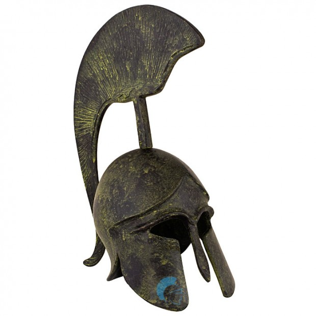 Greek Ancient Helmet with crest 09cm