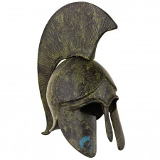 Greek Ancient Helmet with crest 08cm