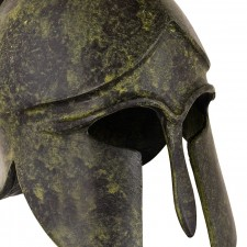 Greek Ancient Helmet with crest 08cm