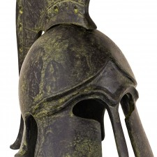Greek Ancient Helmet with bulleted crest 14cm