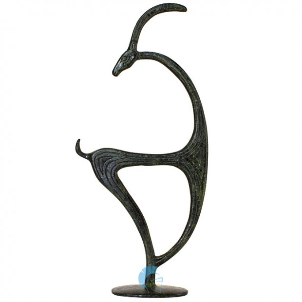 Ancient Greek Aegagrus Symbol of the Island of Crete