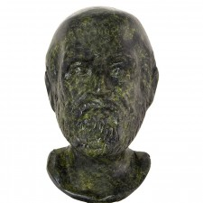 Ancient Greek Bust Of Hippocrates