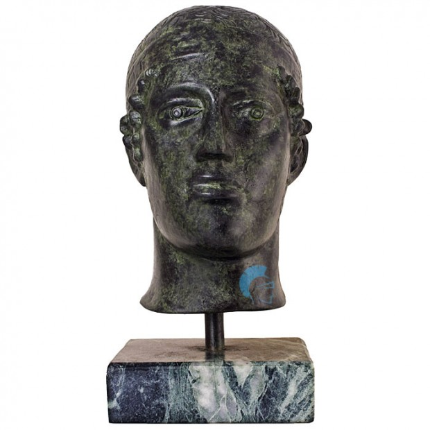Ancient Greek Bust Of Heniochos