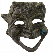 Ancient Greek Mask of the Athenian Comedy 11cm