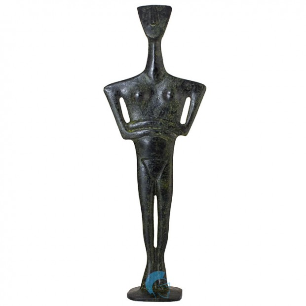 Cycladic Triangular Idol 26cm