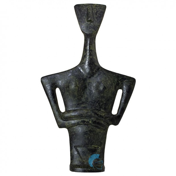 Cycladic Triangular Bust