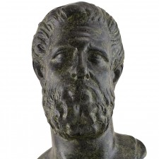 Ancient Greek Head Of Hippocrates