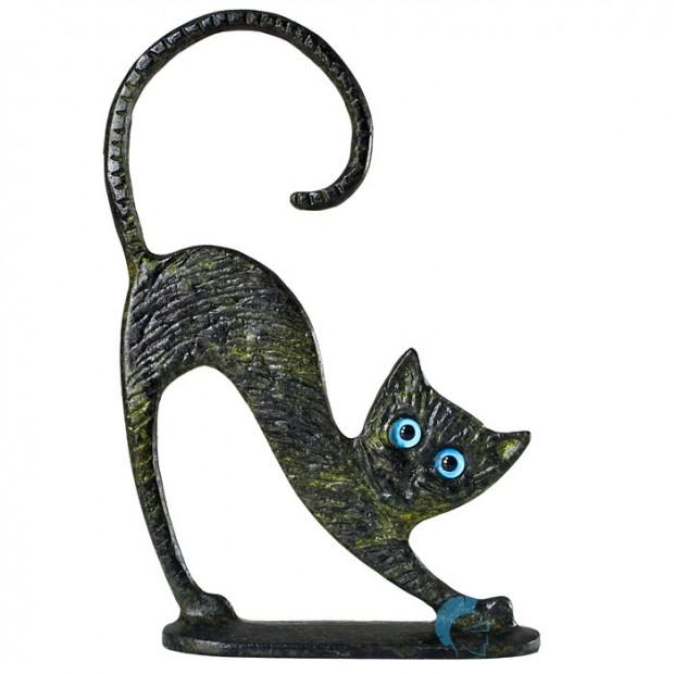 Φιγούρα γάτας με βάση, 11cm